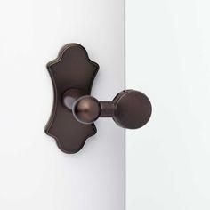 "32"" Tangular Round Tilting Mirror - Oil Rubbed Bronze"