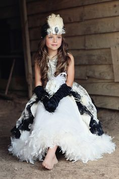 """""""Sophia""""... An Exquisite Parisian Feather Gown – Love Baby J ~ Jamey Reed Photography ~ Alabama Child Photographer ~ Alabama Portrait and Commercial Photographer ~ Guntersville, Alabama"""