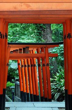 Torii Gates, Ueno Park, central Tokyo // photo by JW Vraets, 2012. See original @ http://www.flickr.com/photos/jwvraets/8220968256/in/photostream/