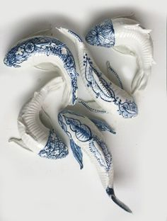"exercicedestyle: "" ceramic fish """
