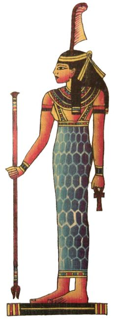 """Ma'at is the Egyptian concept of truth, balance, & justice; personified by the goddess called Ma'at. It is said that at the very moment of creation, the primordial waters from which all things arose spoke to Ra. They told him to """"breathe ma'at"""" so that his """"heart may live"""". So, Ma'at existed, & is credited with bringing order to the universe from chaos at the moment of creation."""