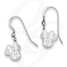 Always trying to make and find the good stuff! Sterling Silver Disney Minnie Dangle Wire EarringsBy Paul Michael Design. Available at www.Geek.jewelry  #Jewelry #Designer #Creative #Geek #PaulMichaelDesign #geekdotjewelry #YouAreSpecial #Gemstones #PaulMichaelJewelry #Diamonds