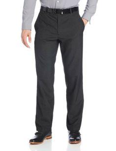 Amazon.com: Kenneth Cole Reaction Men's Windowpane Slim Fit Flat Front Dress Pant: Clothing SIZE 32 X 32