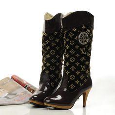 Image detail for -Louis Vuitton Shoes > Louis Vuitton Boots > LOUIS VUITTON GOLD ...
