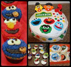 Photo 5 of 49: Sesame Street, Elmo / Birthday Jacksons Sesame Street Party   Catch My Party