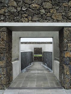 Genius Loci, Phoenix Island | Tadao Ando | Image : Ji young Yoon Genius Loci, Tadao Ando, Green Architecture, Light Art, Building Materials, Interior And Exterior, Minimalism, Waterfall, Phoenix