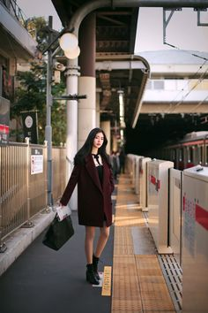 F/W daily 2017 feminine& classy look Look Fashion, Korean Fashion, Winter Fashion, Girl Fashion, Womens Fashion, Fall Outfits, Casual Outfits, How To Look Classy, Yoona