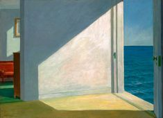 Edward Hopper Rooms by the Sea, 1951 Oil on canvas