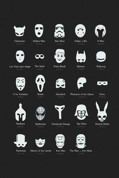 Máscaras famosas do cinema | Complexo Geek