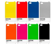 Pantone Iphone Cases   http://gizmodo.com/5707066/slip-your-iphone-or-ipad-into-an-official-pantone-case
