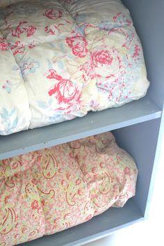 Cozy English down comforters