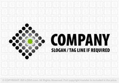 Pre-designed logo 382: Field of Dots Logo