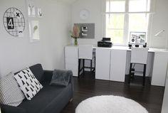 Kuvahaun tulos haulle työhuone kotona Decor, Furniture, Home Decor, Office Desk, Desk