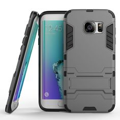 Armor Robot Iron Man Shockproof Dual Hybrid 2 In 1 Protective Phone Cases Cover For Samsung Galaxy S5 S6 S6Edge S7 S7 Edge