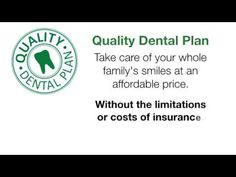 Greg Roos at Roos Dental Care offers Quality Dental Plan - a discount Dental plan that is similar to dental insurance but no monthly premiums. It grants . Dental Discount Plans, Dental Plans, Dental Services, Dentists, Care Plans, Dental Insurance, Dental Care, Take Care Of Yourself, Schedule