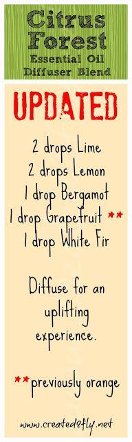 Citrus Forest Diffuser Blend  http://healthinsideandout.com https://m.facebook.com/texashealthinsideout