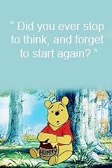 daily-disney: Winnie the pooh quotes.