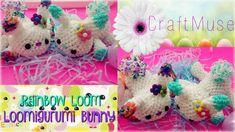Rainbow Loom Loomigurumi Bunny Video 2