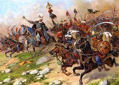 Turkish cavalry, 1600's.