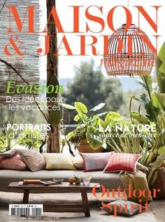 Maison & Jardin Magazine Juin 18 Minimalist Decor, Plant Hanger, House Plants, Magazine, Create, Home Decor, June, Home, Decoration Home