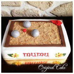 Gâteau thème pétanque