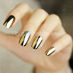 Cheap nail art decorations stickers, Buy Quality nail sticker directly from China stickers for nails Suppliers: Gold or Silver Nail Art Decorations Sticker Patch Foils Armour Stickers Ongles Cool Nail Stickers For Nails Beauty Manicure Silver Nail Art, Metallic Nails, Gold Nail, Silver Color, Metallic Gold, Star Nail Art, Star Nails, Winter Nail Designs, Nail Art Designs