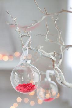 INSPIRATION: Confetti baubles.
