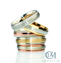 Allied Gold Limited: Stand No. 17U40-V41,  Product description The Colours I Am Collection is made up of precious rings and bangles, uniquely crafted by a fusion of Argentium Silver with Platinum, Red Gold, Yellow Gold and Palladium.  Suggested Retail Pricing: below £100 to over £2000 Red Gold, Birmingham, Online Boutiques, Product Launch, Bangles, Wedding Rings, Retail, Product Description, Colours