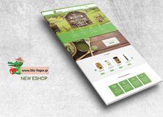 🍃 Βιολογικά προϊόντα 🍃 Και ενώ όλοι επιλέγουμε βιολογικά για μια καλύτερη ποιότητα ζωής ο Bio-fagos δημιούργησε το δικό του eshop ώστε πλέον να έρχονται στην πόρτα μας!  Άλλο ένα project στέφθηκε με επιτυχία!  Δείτε το project ➡️ www.bio-fagos.gr Shops, Tents, Retail, Retail Stores