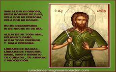 Oración de San Alejo Para Alejar Personas-Para Separar, Para Separar Amantes o Alejar Enemigos ¡Oh! Bienaventurado San Alejo, que después treinta y cuatro a