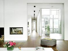 Luxury Eine Wohnung im Dachgeschoss muss nicht immer dunkel sein