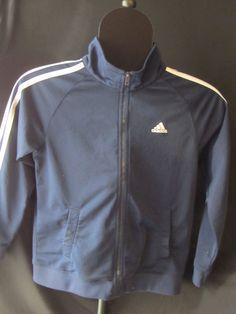Adidas Athletic Navy Blue, Zip Front,Jacket,Coat sz 7X GREAT SHAPE,Polyester,BOY #adidas #BasicJacket #Everyday