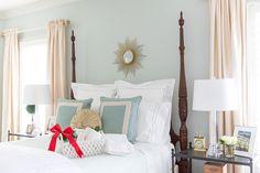 Guest Room Makeover   Sherwin Williams Sea Salt Color