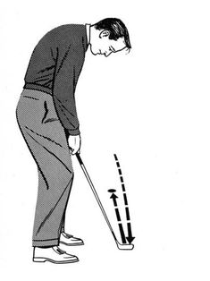 Slideshow: Arnold Palmer's Timeless Tips - Golf Digest Thema Golf, Golf Breaks, Volleyball Tips, Golf Putting Tips, Used Golf Clubs, Arnold Palmer, Golf Videos, Golf Instruction, Golf Tips For Beginners