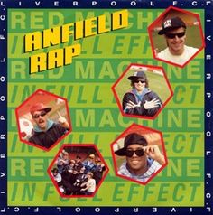 The Reds stormed the charts 25 years ago this week with the release of the famous 'Anfield Rap'.