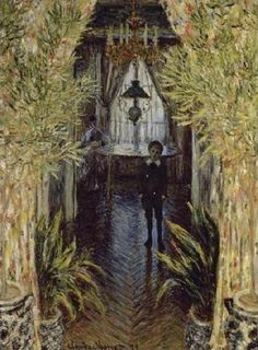 A Corner Of The Apartment Giclee Print Poster by Claude Monet Online On Sale at…