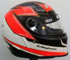 Kart Helmet Design UK #195 ~ Hand Painted Helmets - Design your helmet today..!!