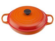*** Braiser #lecreuset 3 3/4 qt in Flame color