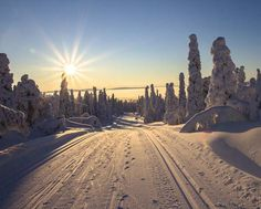 Most Beautiful Places in Finland, Lapland, Rovaniemi Lappland, Romantic Places, Beautiful Places, Beautiful Scenery, Amazing Places, Lago Moraine, Christmas In Europe, Christmas 2016, Berlin Brandenburg