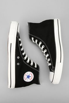 Black converse high tops....you can never go wrong! - word