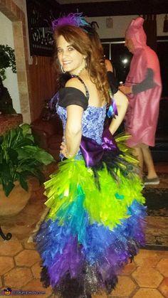 Colorful Peacock - DIY Halloween Costume