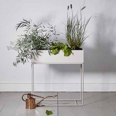 swedish house at homeFerm Living Plant Stand Light Grey — swedish house at home Fern Living, Planter Boxes, Wall Planters, Succulent Planters, Concrete Planters, Succulents Garden, Hanging Planters, Zinc Planters, Plant Box