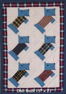 large version of Scottie quilt
