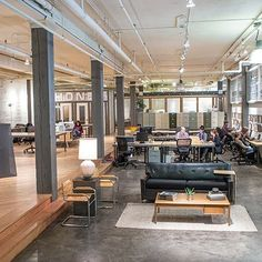 Working Alone, Together : Architectural Digest - Makers Space Seattle