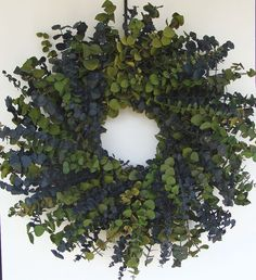 Eucalyptus Wreath - Oh! I love the fresh smell of eucalyptus!