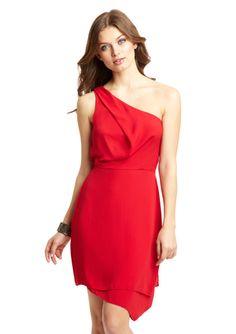 BCBGMAXAZRIA One-Shoulder Somara Dress $89.99