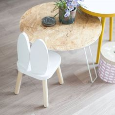 mommo design: IKEA HACKS FOR KIDS - Bunny Flisat stool