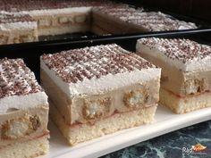 Výnimočný a výnimočné dobrý dezert s veľkolepým názvom Nebeská Máňa. Jeho nebeská krémová chuť s kávou ho naozaj vystihuje. Jeden z najlepších kávových dezertov vôbec Krispie Treats, Rice Krispies, Vanilla Cake, Cooking, Desserts, Food, Kitchen, Tailgate Desserts, Deserts