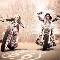 Chicks on Route 66 | Totally Rad Choppers