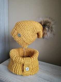 Pavlak / horčicova supravička Crochet Hats, Beanie, Fashion, Knitting Hats, Moda, Fashion Styles, Beanies, Fashion Illustrations, Beret